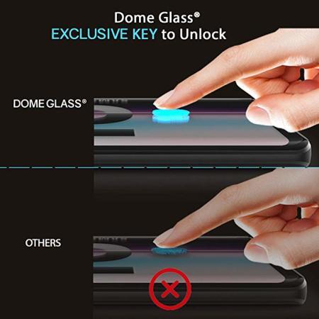 Protector Pantalla Galaxy S10 Whitestone Dome Cristal Cobertura Total
