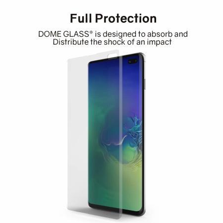 Pellicola protettiva integrale per Samsung S10 Plus