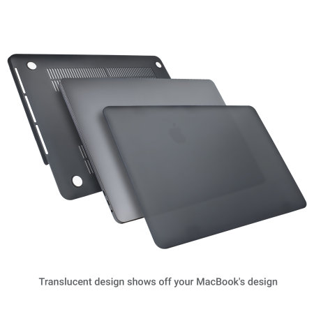 "Olixar ToughGuard MacBook Pro 15"" Case (2018 To 2019) - Black"