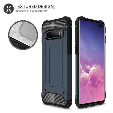 Olixar Delta Armour Protective Samsung Galaxy S10 Plus Case - Blue