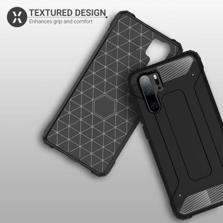 Olixar Delta Armour Protective Huawei P30 Pro Case - Black