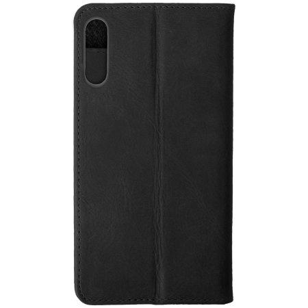Krusell Sunne 2 Card Huawei P30 Folio Wallet Case - Black