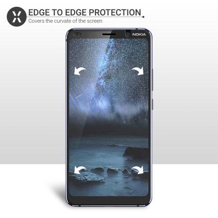 Olixar Nokia 9 Pureview Film Screen Protector 2-in-1 Pack