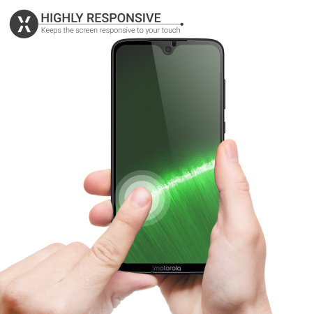 Olixar Motorola Moto G7 Tempered Glass Screen Protector