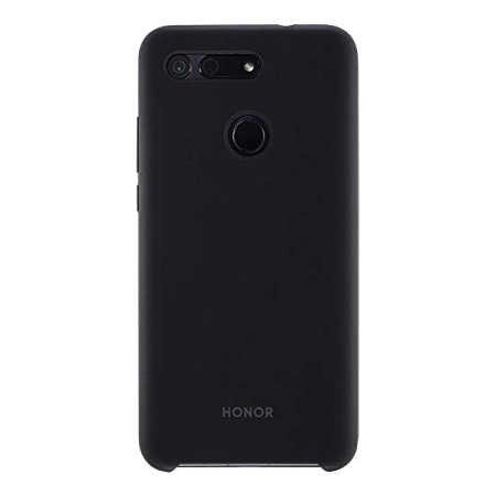 Official Huawei Honor View 20 Silicone Case - Black