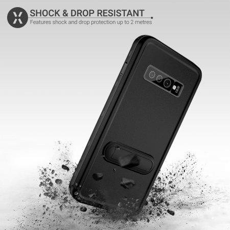 Olixar Terra 360 Samsung Galaxy S10 Protective Case - Black