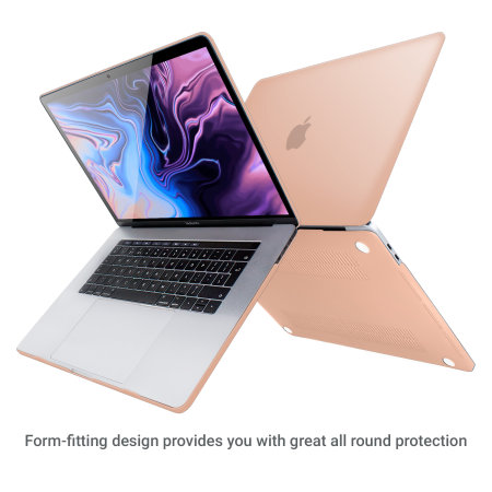 "Olixar ToughGuard MacBook Pro 15"" Case (2016 to 2018) - Champagne Gold"