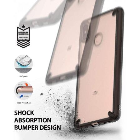 Ringke Fusion Xiaomi Mi Max 3 Case - Smoke Black
