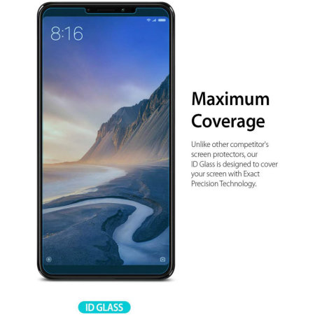 Ringke Invisible Defender Xiaomi Mi Max 3 Glass Screen Protector