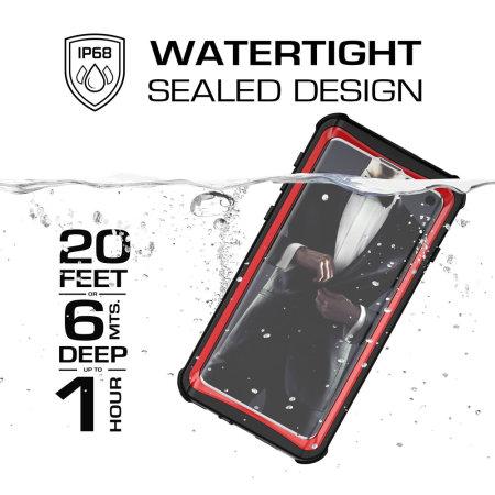 Ghostek Nautical Samsung Galaxy S10 Waterproof Case - Red