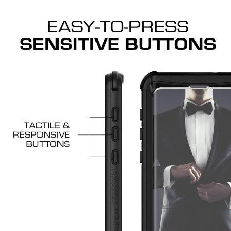 Ghostek Nautical Samsung Galaxy S10e Waterproof Case- Black