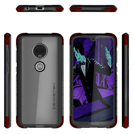 Ghostek Motorola Moto G7 Covert 3 Bumper Case - Smoke Black