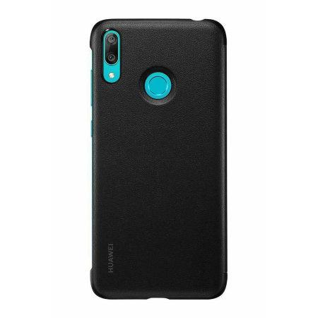 ottima vestibilità 9f286 a6287 Official Huawei Y7 2019 Flip Cover Case - Black