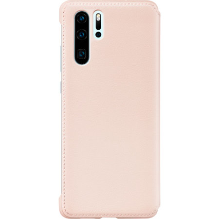 Official Huawei P30 Pro Wallet Case - Pink