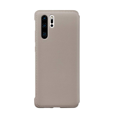 Official Huawei P30 Pro Wallet Case - Khaki
