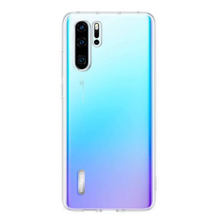 new styles f9830 5d302 Official Huawei P30 Pro Back Cover Case - Clear