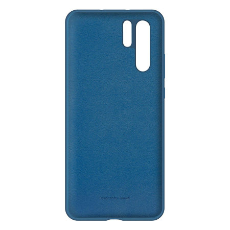 Official Huawei P30 Pro Silicone Case - Blue