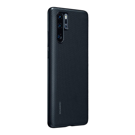 Official Huawei P30 Pro Back Cover Case - Black Carbon