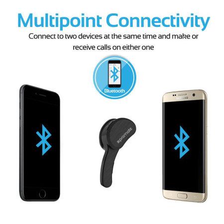 Promate Lightweight Universal Wireless Mono Headset