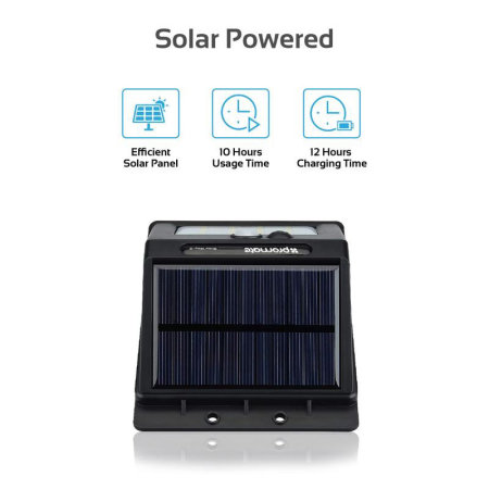 Promate Premium Solar Powered LED Light with Intelligent Motion Sensor
