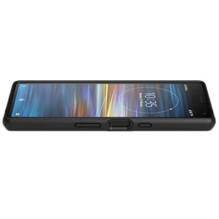 Offizielle Sony Xperia 10 Style Cover Solid Hülle SCBI10 - Schwarz