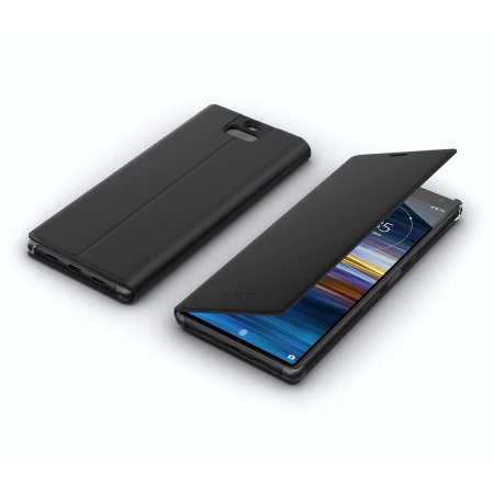 Official Sony Xperia 10 Cover Stand Case SCSI10  - Black
