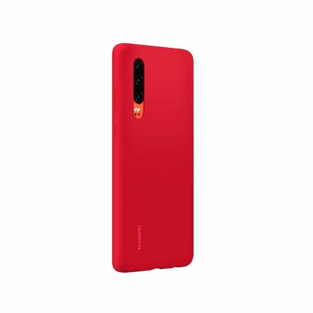 Official Huawei P30 Silicone Case - Red