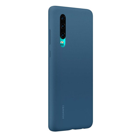 Official Huawei P30 Silicone Case - Blue