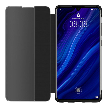 Official Huawei P30 Smart Flip Case - Black