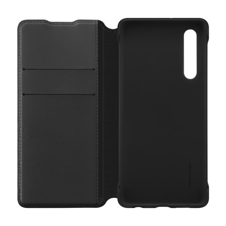 Official Huawei P30 Wallet Case - Black