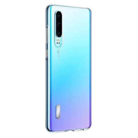 Official Huawei P30 Back Cover Case - Clear