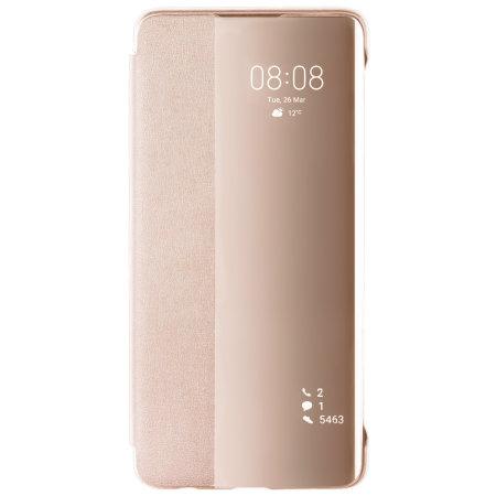 Official Huawei P30 Smart Flip Case - Pink