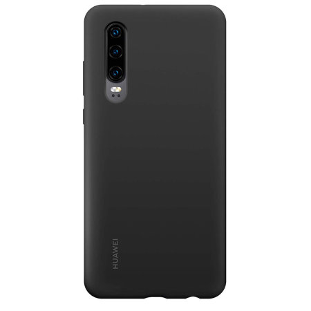 Officieel Huawei P30 Silicone Case - Zwart