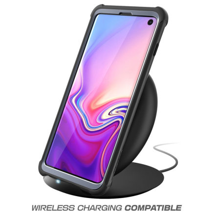 i-Blason Ares Samsung S10 Case and Screen Protector - Black