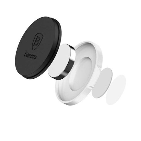 Baseus Magnetic Smartphone Holder- Silver