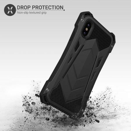 Funda iPhone XS / X Olixar Titan Armour 360 - Negra