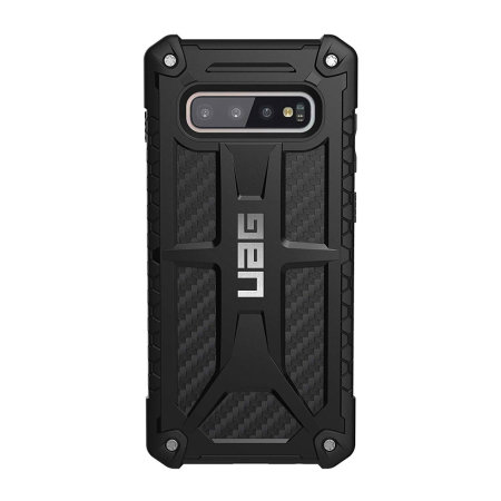 Coque Samsung Galaxy S10 Plus UAG Monarch – Fibre de carbone
