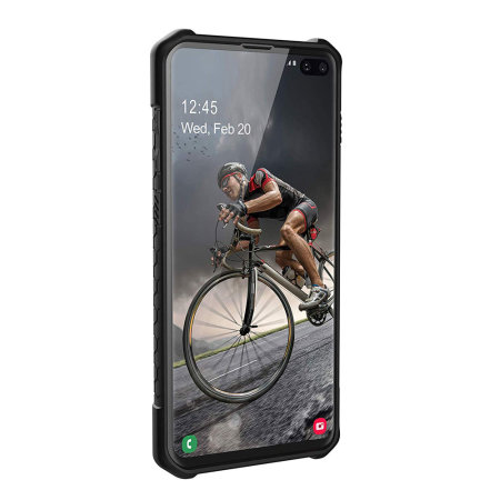UAG Monarch Samsung Galaxy S10 Plus Case - Carbon Fiber