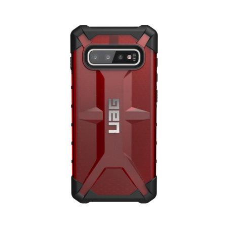 UAG Plasma Samsung Galaxy S10 Plus Protective Case- Magma