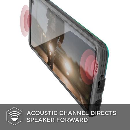 X-Doria Defense Shield Samsung Galaxy S10 Case - Iridescent