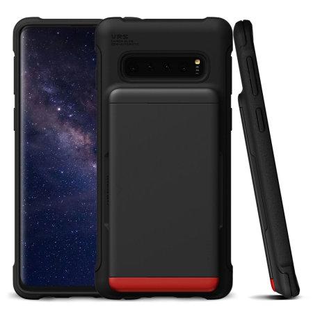 VRS Design Damda Glide Samsung Galaxy S10 Case - Matte Black
