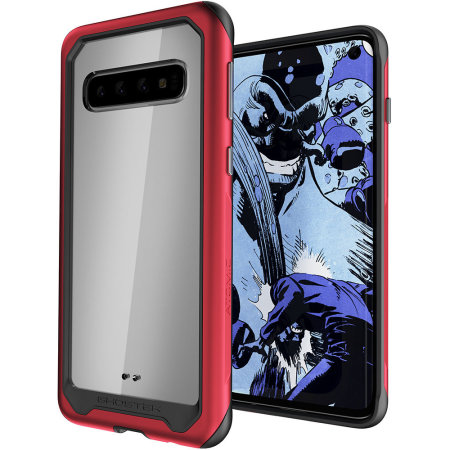 Ghostek Atomic Slim 2 Samsung Galaxy S10 Case - Red