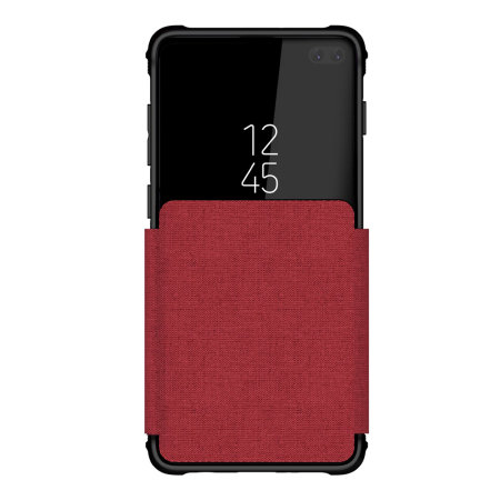 Ghostek Exec 3 Samsung Galaxy S10 Plus Wallet Case - Red
