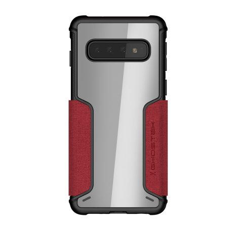 Ghostek Exec 3 Samsung Galaxy S10 Wallet Case- Red