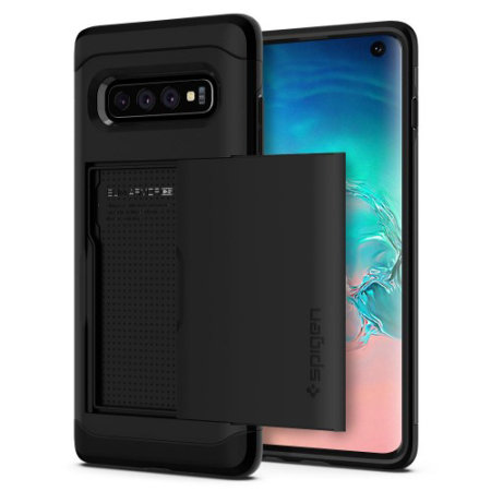 Cover Spigen Slim Armor CS Samsung Galaxy S10 - Nero