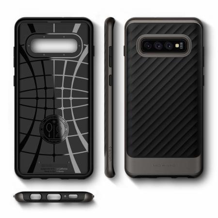 Spigen Neo Hybrid Samsung Galaxy S10 Case - GunMetal