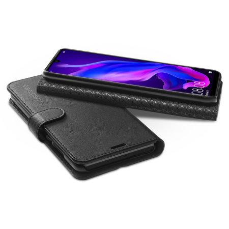 Spigen Huawei P30 Lite Wallet S Case - Black