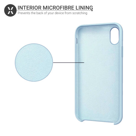 coque iphone 5 bleu pastel