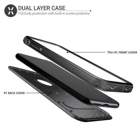 Olixar Terra 360 iPhone XS / X Protective Case - Black