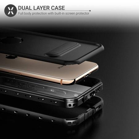 Olixar Terra 360 iPhone XR Water Resistant Case - Black